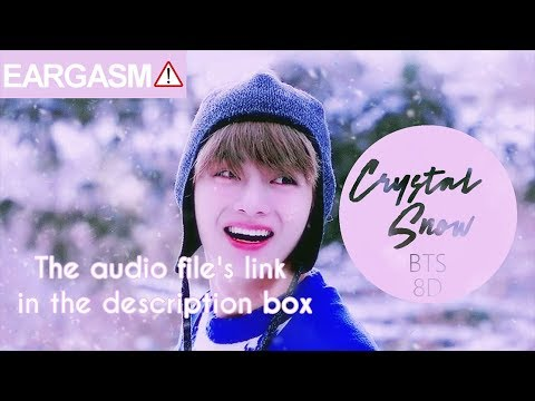 BTS 防弾少年団  CRYSTAL SNOW 8D USE HEADPHONE 🎧