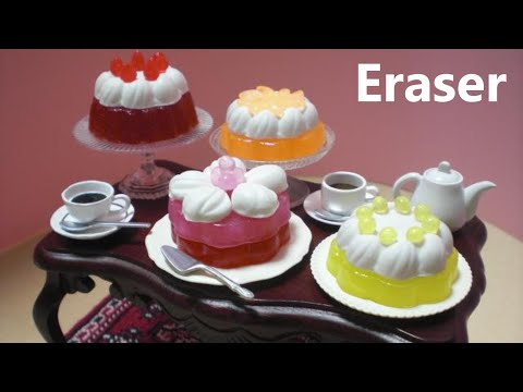 debika #2  Cake Shaped Erasers Making Kit