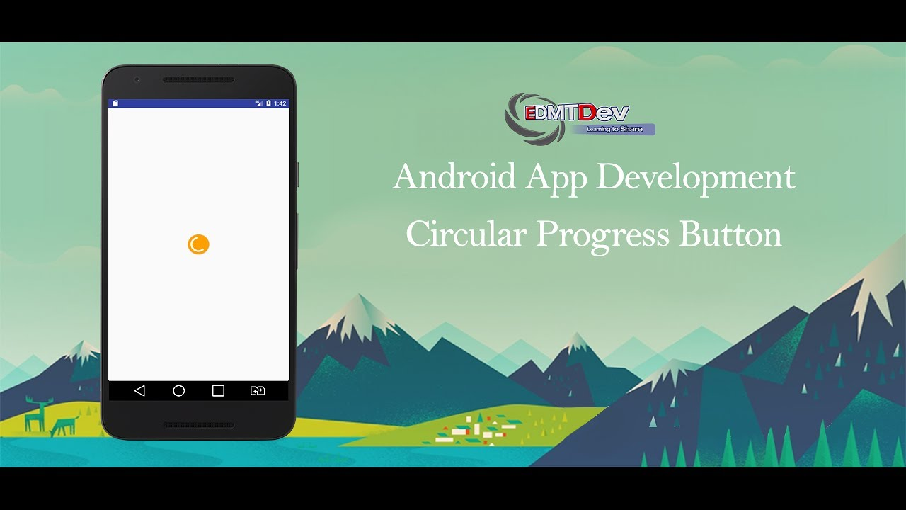 Android Development Tutorial - Loading Button