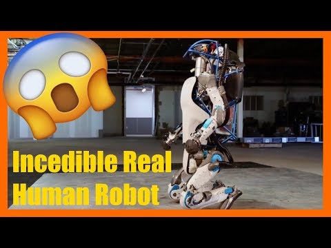Incredible Real Human Robot / Awesome Technology / Real Transformer / Menschlicher Roboter