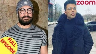 Aamir Reveals Details On His Character In 'TOH' | Karan Johar Announces His Film 'Kalank' & More