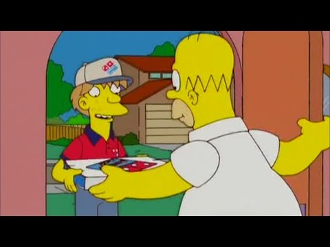 The Simpsons - UK Domino's Advert (2006)