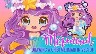 Drawing Time - Mermaid Chibi