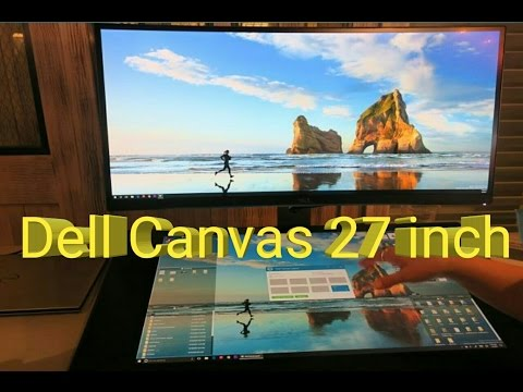 Dell Canvas 27inch all in one pc...Surface studio alternative?