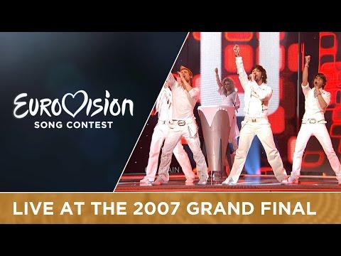 D'Nash - I Love You Mi Vida (Spain) Live 2007 Eurovision Song Contest