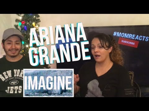 WHOA! #MOMREACTS ARIANA GRANDE IMAGINE REACTION