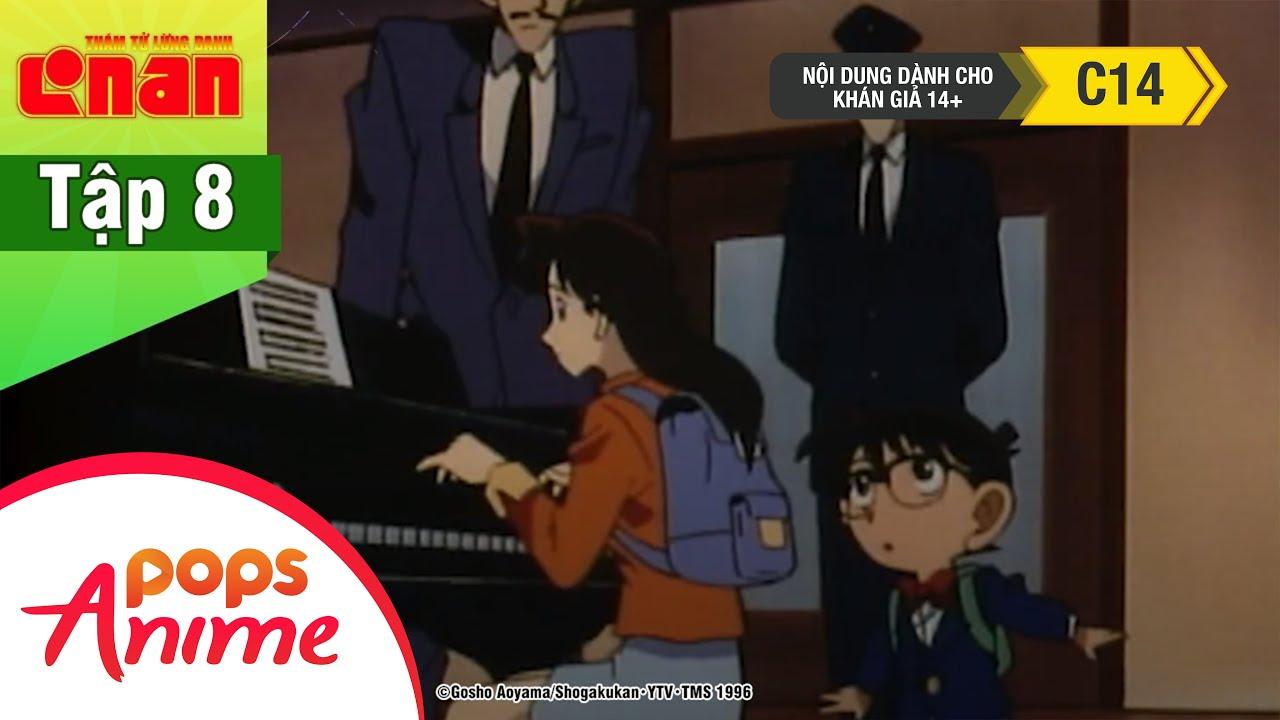 Thám Tử Lừng Danh Conan - Tập 8 - Vụ Án Bản Sonata Ánh Trăng Phần 1 - Conan Lồng Tiếng Mới Nhất