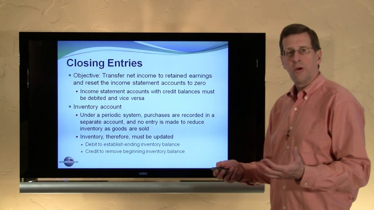 5 - Closing Entries for the Merchandising Business - YouTube