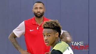 Lebron James Jr. Leads Team To Championship! 2018 John Lucas All-Star Weekend Day 2
