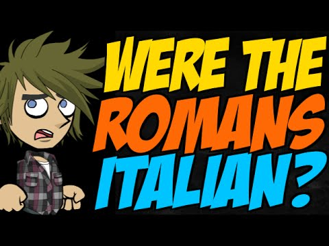 Were the Romans Italian?