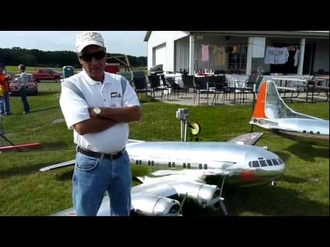 RC Boeing 307 stratoliner Flight 1 NAMFI 2011 SMMAC Info from Carl Bachhuber after the flight