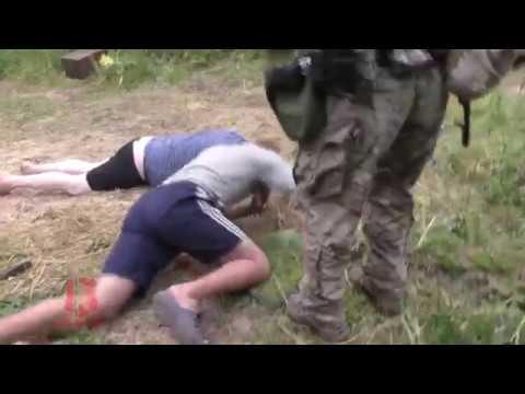 Незаконные старатели в Северо-Енисейске