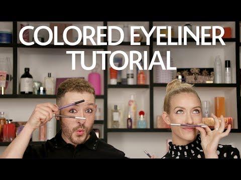 Color Eyeliner Tutorial   Sephora