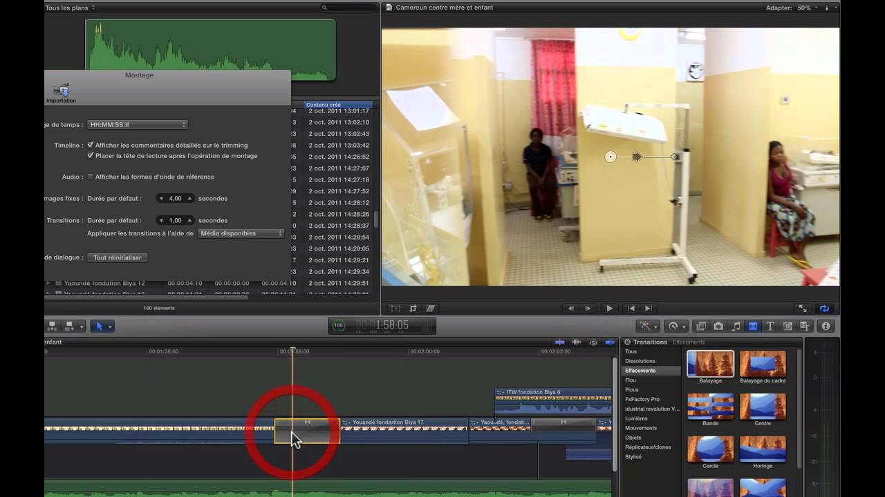 how to add custom transitions in final cut pro