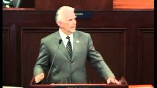 Ensign Addresses Nevada State Legislature
