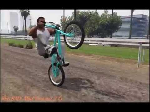 Gta 5 How To Ride A Wheelie On A Bike Youtube