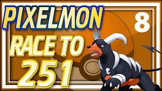 Pixelmon Race to 251 - Ep8: Killing Raikou (Minecraft Pixelmon 4.0.5) All New Johto Pixelmon!