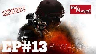 Phantom Forces (Roblox) Ep13 w/ Air Val