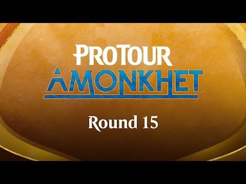 Pro Tour Amonkhet Round 15 (Standard): Martin Müller vs. William Jensen