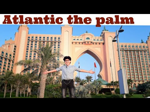 Atlantic the palm Dubai tour #moizmuneer #atlantis #atlantisjumeirah #atlantisbeach #atlantisthepalm
