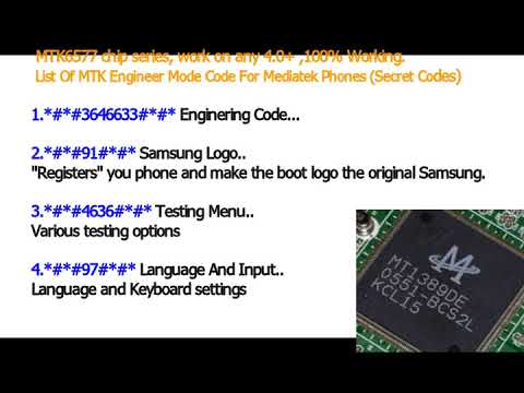 Mtk Engineering Mode For Samsung