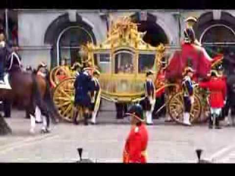 Prinsjesdag 2013 Den Haag op het Binnenhof