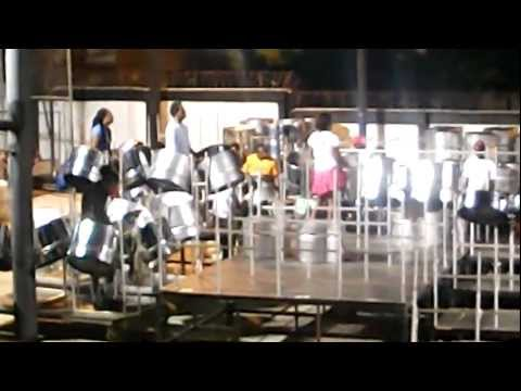Kerwin Du Bois Bacchanalist & Antilles Riddim on Steel Pan 2012