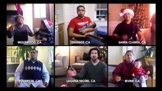 """This Christmas"" by Donny Hathaway - a cappella cover by Treehouse Cyber-Carolers"