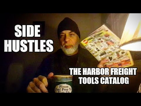 Unstuck Side Hustles and why do I like the Harbor Freight Tools catalog of junk?
