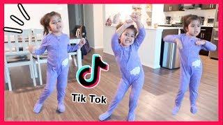 5 Year Old Learns Tik Tok Dance!