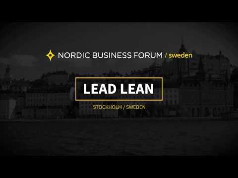 Nordic Business Forum Sweden 2018: Lineup announcement