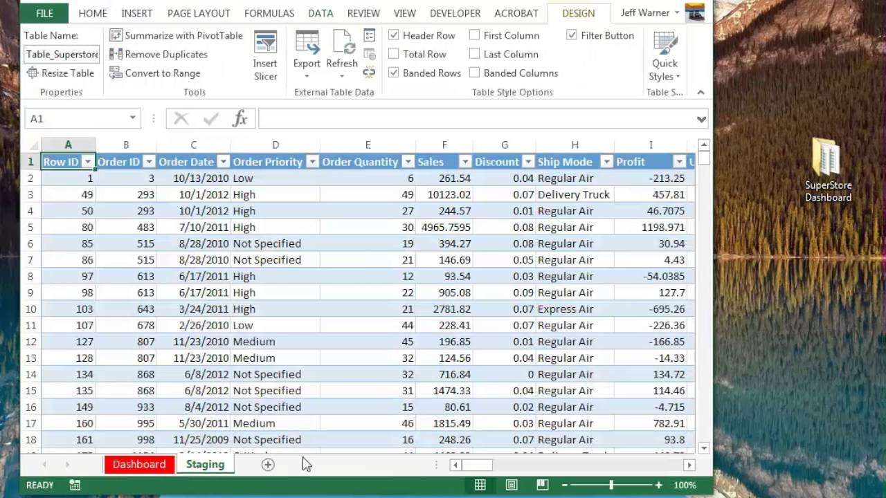How to make a data connection between two Excel workbooks