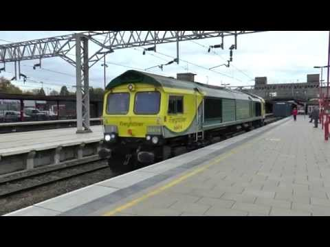 Freight Trains @ Acton Bridge & Stafford - Friday 23rd October 2015