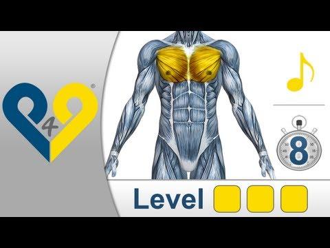 Entraînement musculation pectoraux Niveau 3