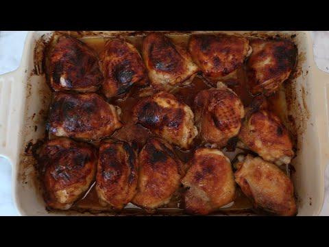 Honey Roasted Chicken Thighs Recipe | Easy Gluten Free, Paleo & AIP Diet Dinner Ideas