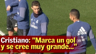 Cristiano, a Casemiro: