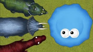 EAT THE DINOSAURS! | Tasty Planet 2: Back For Seconds