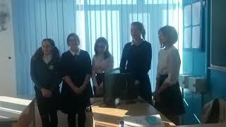 Ровно месяц назад поспорили с девочками, что они подготовят музыкальный номер на казахском языке.вот(, 2018-10-04T03:10:16.000Z)