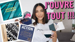 JE SPOILE LES CALENDRIERS ! ACTION, SEPHORA, LOOKFANTASTIC ...
