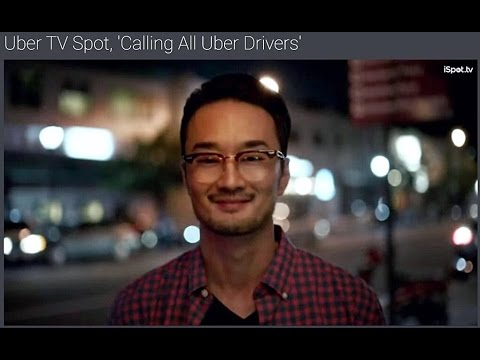 Jon Komp Shin in Uber National TV Commercial