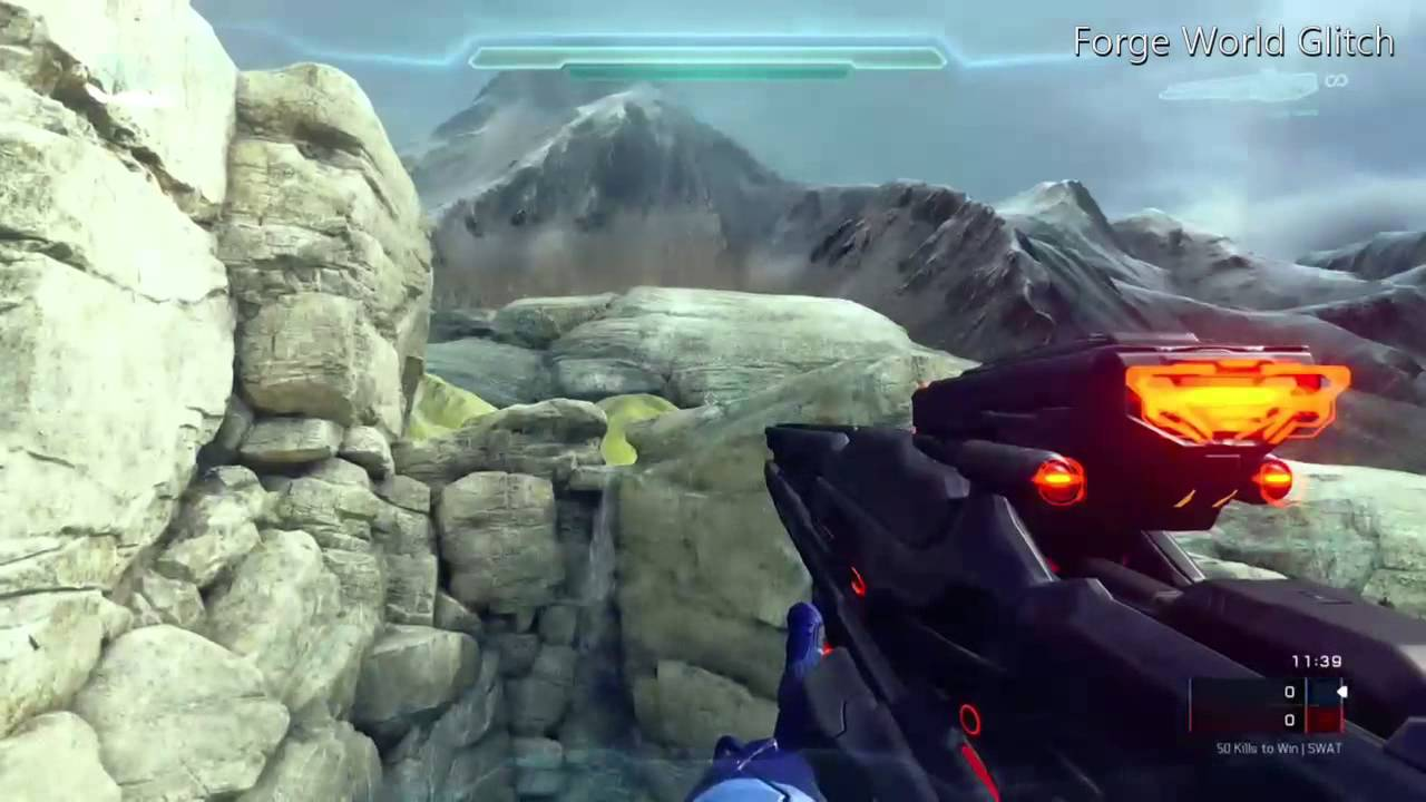 Halo 5 | FORGE WORLD GLITCH? Out of Pegasus