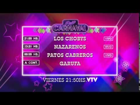 Agenda Carnaval Viernes 26 Febrero