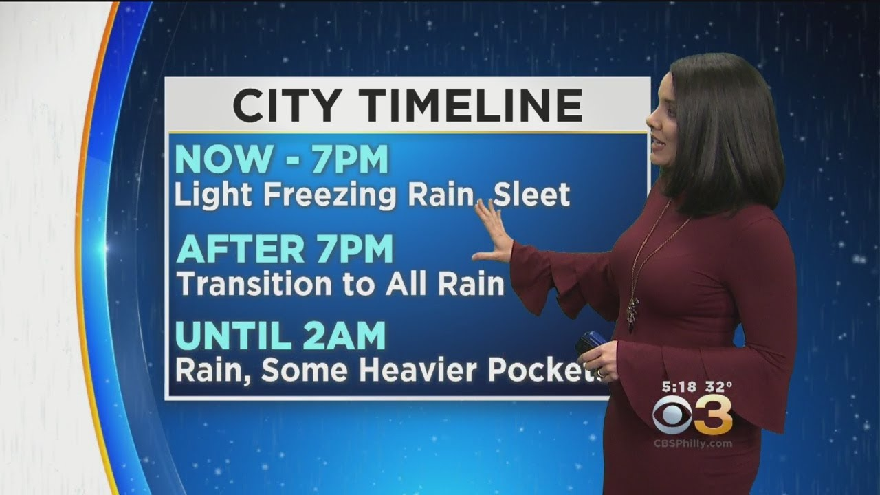 Philadelphia Weather Latest On The Winter Storm