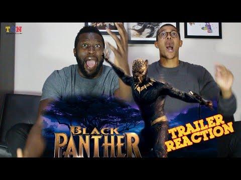 Black Panther Trailer #1 REACTION!!