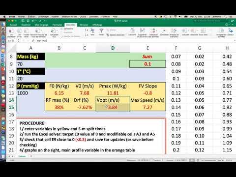 FVP Sprint spreadhseet tutorial