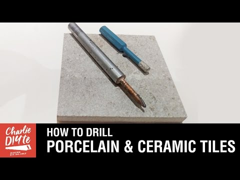 How to Drill a Hole in Porcelain and Ceramic Tiles - Episode #2