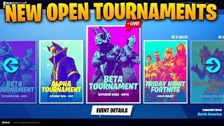 *NEW* OPEN TOURNAMENTS..! Fortnite Funny Fails and WTF Moments! #65