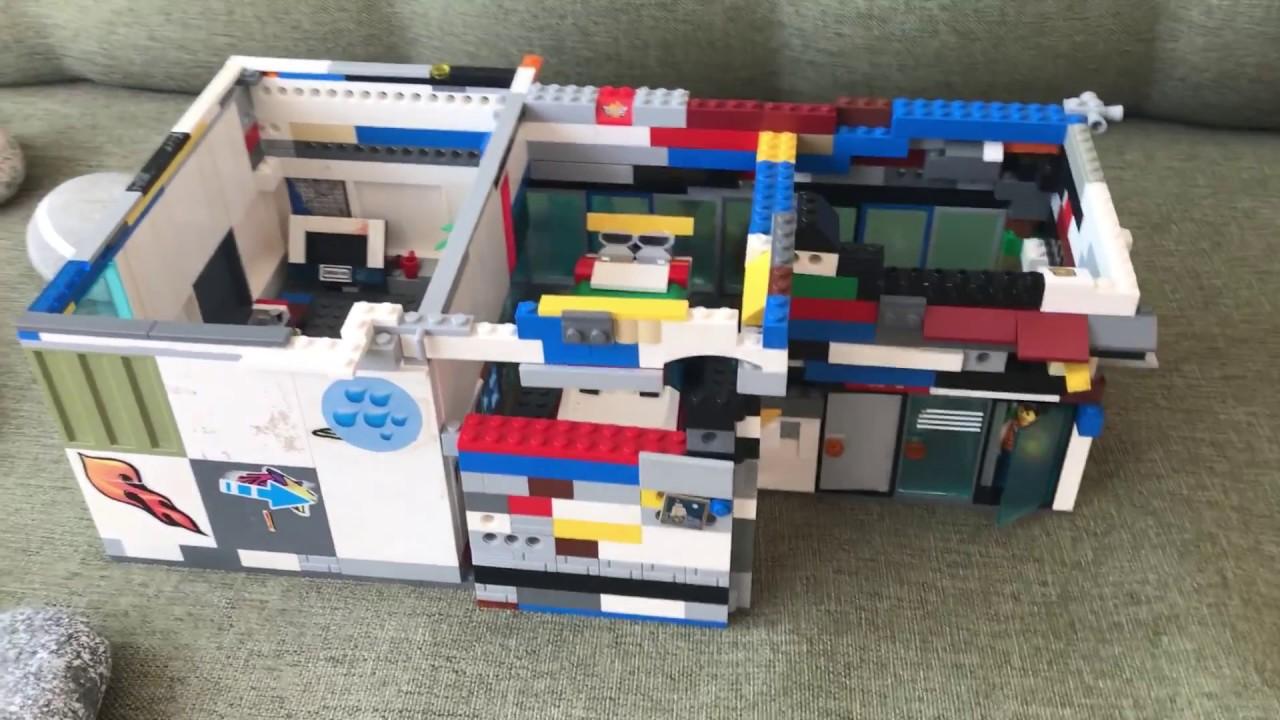 Контрольный центр полицейского из lego  Контрольный центр полицейского из lego