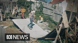 This Guy Built A Skate Ramp In His Backyard  1977