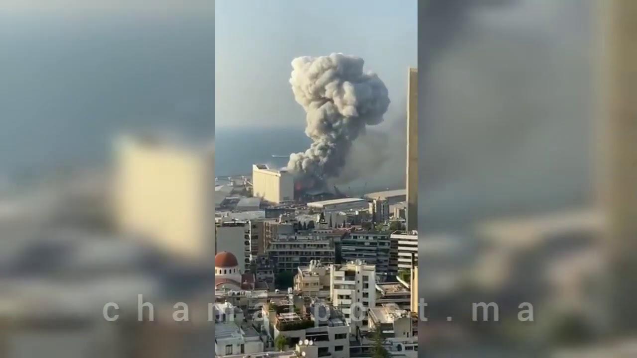 لبنان اليوم .. انفجار كبير يهز العاصمة اللبنانية بيروت